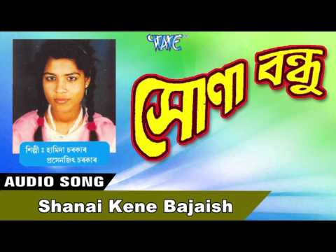 Shanai Kene Bajaish || Hamida Sarkar || New Assamese Songs 2016