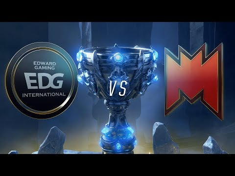 EDG vs. INF | Play-In Groups | 2018 World Championship | Edward Gaming vs. Infinity Esports (2018)