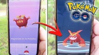 ¡REGISTRO DARUMAKA y lo EVOLUCIONO a DARMANITAN en Pokémon GO! [Keibron]