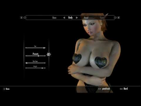 Skyrim mods Xboxone - Making a succubus by Pandamarie gaming