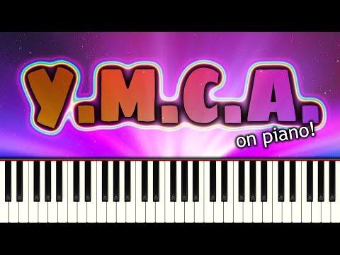 Y.M.C.A. (Village People) - Piano Tutorial