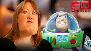 Woman looks like Buzz Lightyear and is proud of it   60 Minutes Australia