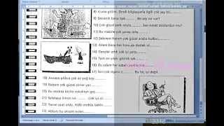 Турецкий Язык по скайпу. 13-й урок