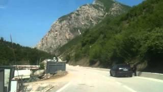 Rruga Kukës-Topojan nga: Topojan BajrakuParë