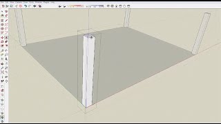 2 How to Make Pergola Posts in Sketchup
