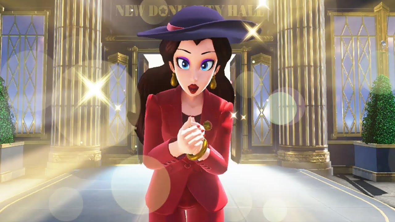 Mario Gets To Know Pauline Super Mario Odyssey