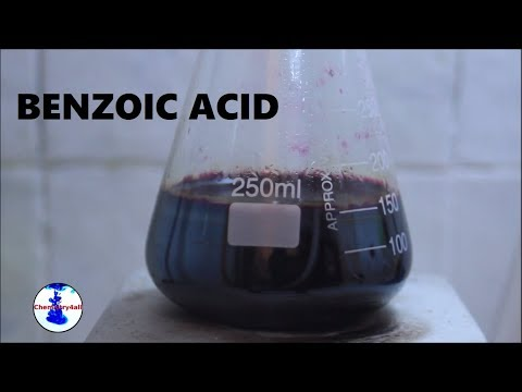 How to make Benzoic acid from Toluene