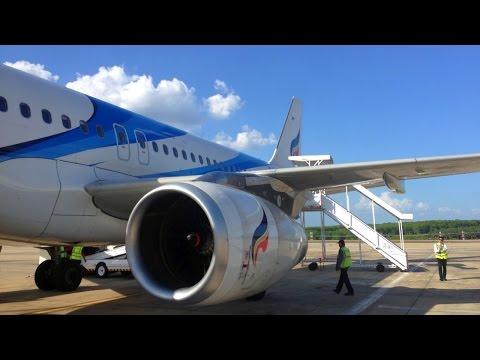 Bangkok - Krabi with Bangkok Airways and some Turbulence