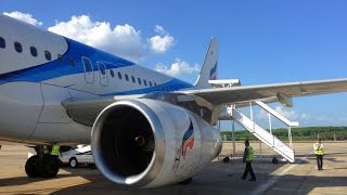 Bangkok - Krabi with Bangkok Airways and some Turbulence