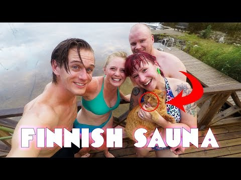 Extreme Löyly! REAL Finnish sauna experience ft. Hydraulic Press Channel