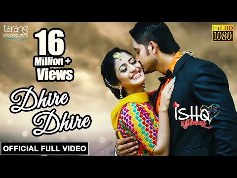 dhire-dhire---official-full-video-|-ishq-punithare-|-arindam,-elina,-humane-sagar,-diptirekha