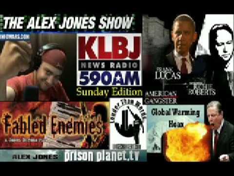 Jason Bermas On 590 KLBJ AM Obamas NWO The Great Global Warming Hoax 7 8