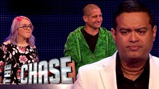 The Chase | Demi and Gareth's £10,000 Final Chase With The Sinnerman