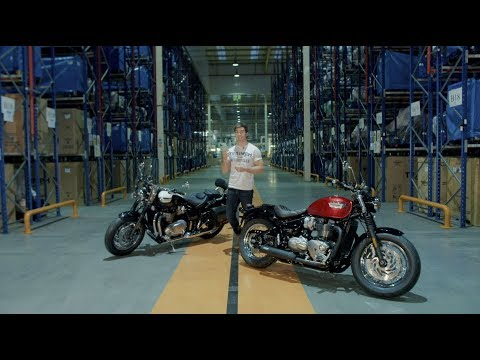 Visitor Experience Opening, Speedmaster and Bobber Black Launch Event