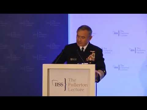 Adm. Harris remarks at IISS Fullerton Forum