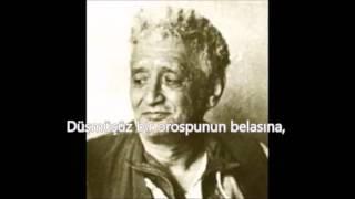 Neyzen Tevfik Mecnun şiiri Ara Indir You Mp3 Dinle Indir
