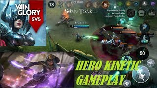 New Hero Kinetic gameplay || Vainglory 5v5 ||