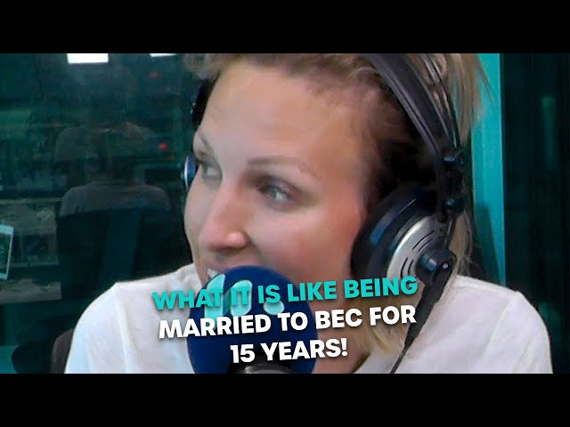 What Is It Like Being Married To Bec For 15 Years? | Bec Cosi & Lehmo