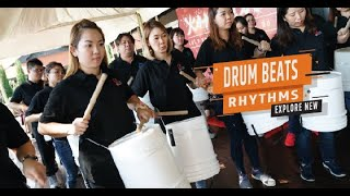 DRUM BEATS -Percussion Team Building in Johor Bahru-HRDF Claimable-RUN Solution