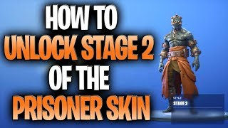 Prisoner Skin Secret Key Location!  How To Unlock Stage 2 Of The Prisoner Snowfall Skin!