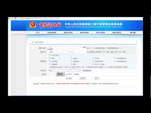 Trademark Search in China