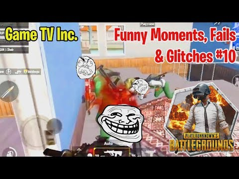 PUBG Mobile - LOL Funny Moments, Fails & Glitches #10 (with Color Sketch Theme)