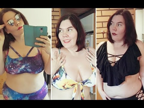 cb4a13601ad Plus-Size Swimwear Try-On Spring 2018  Zaful   RoseGal - YouTube
