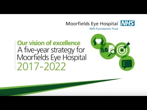 Moorfields strategy - our vision of excellence 2017-2022