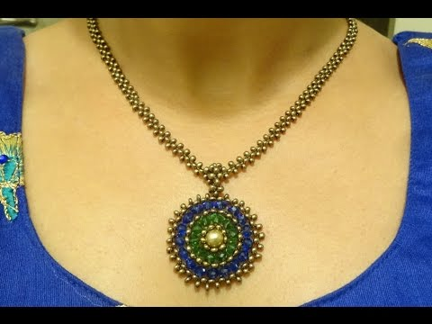 Part I: How to make a Medallion pendant