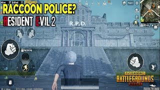 New! RPD Location! Where to Find it? PUBG Mobile x Resident Evil 2 I Update 0.11 Zombie Mode