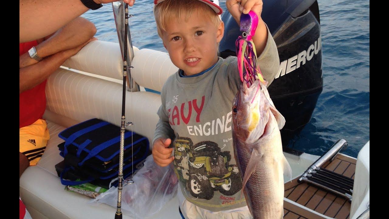 Морская рыбалка в Турции