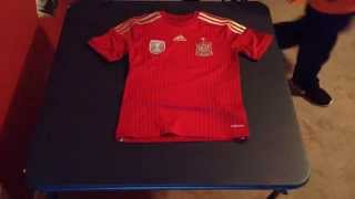 Spain 2014 Home Jersey