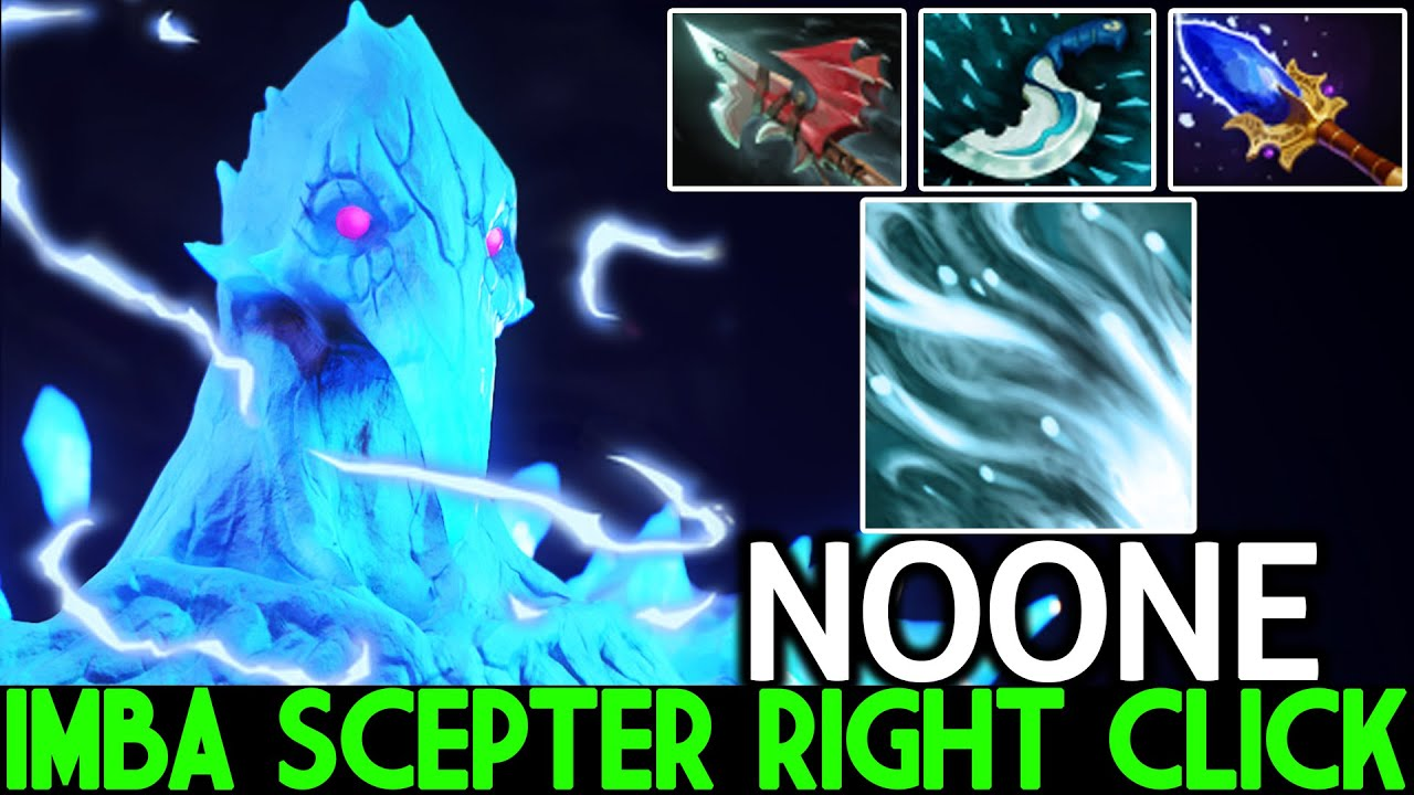NOONE [Ancient Apparition] New Era AA Mid Scepter Right Click Build Dota 2