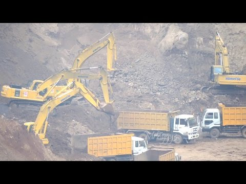 Fuso  Self loader Truck Excavator Daewoo 500LCV Bulldozer Komatsu D61E D31P Highway Toll Bawen Costr