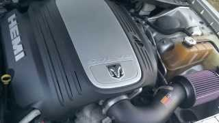 chrysler 300 durango jeep grand cherokee magnum 5 7l hemi engine with k n air filter sound