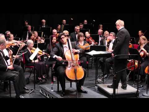Dvorak Cello Concerto i) Allegro - Daniel Benn, Adrian Brown, Bromley Symphony Orchestra
