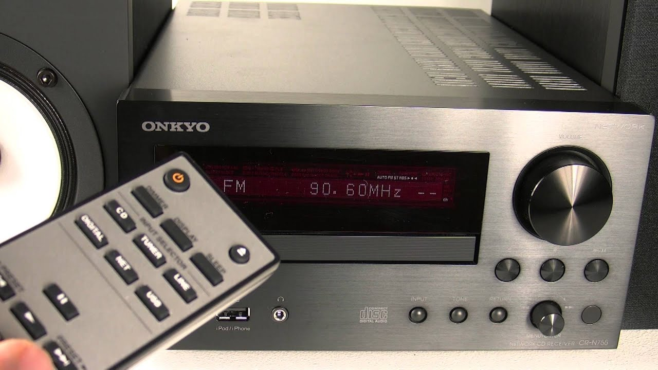 onkyo cs n755. onkyo new 2012 cs-n755 using the tuner \u0026 storing radio stations onkyo cs n755