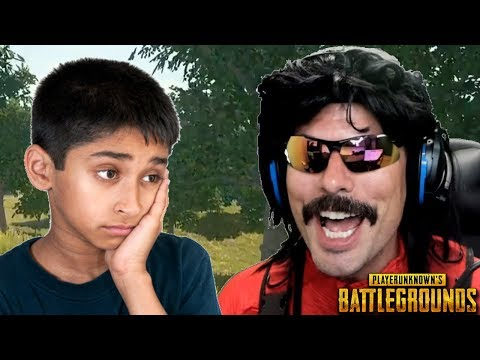 Doc's Funniest Game Ever on PUBG with Random Kid!