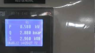 Turbina pelton generador asincrono