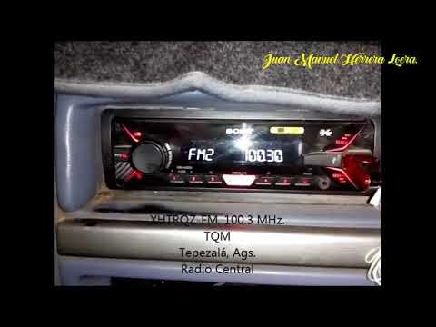 Estaciones de Radio FM en Aguascalientes (03-02-18)