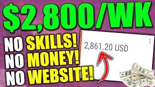 EASIEST Way To Mąke $2,800/Wk With NO SKILLS (Detailed BEGINNER Affiliate Marketing Tutorial)