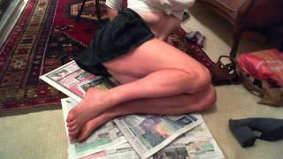 Fake tan on legs Thumbnail