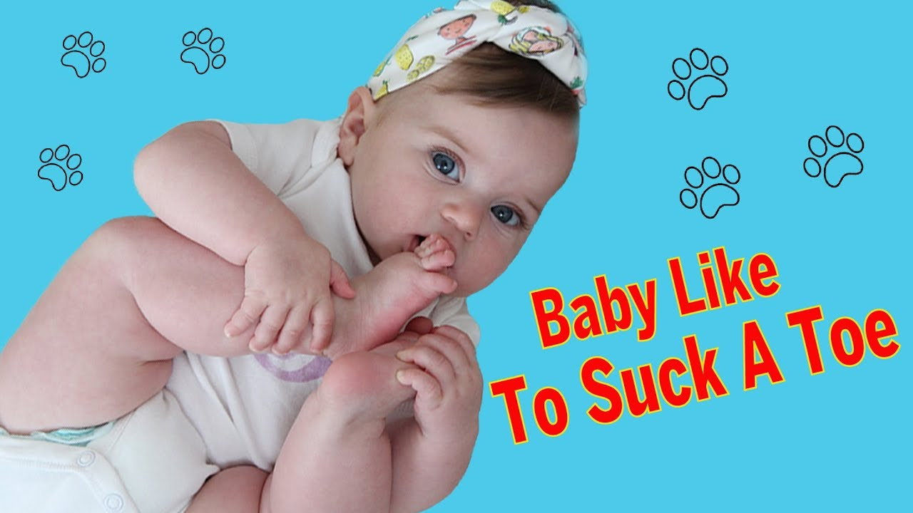 Try Not to Laugh - CUTE Babies Likes To Suck A Toe || BEST Babies Video Compilation