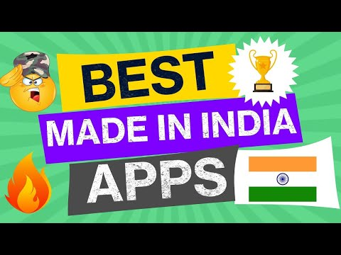 BEST MADE IN INDIA APPS 🇮🇳BEST INDIAN APPS😍 INDIAN APPS DOWNLOAD from YouTube · Duration:  3 minutes 40 seconds