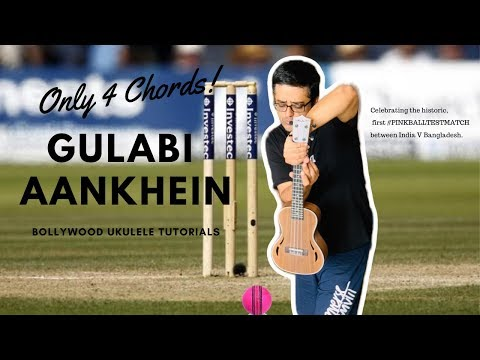 gulabi-aankhein-|-only-4-chords-|-easy-ukulele-tutorial