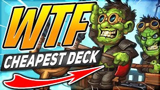 DESTROYING my ENEMIES With the CHEAPEST Deck! | Face Hunter | Descent of Dragons | Hearthstone