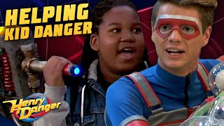 EVERY Time Danger Force Rescues Kid Danger! | Henry Danger