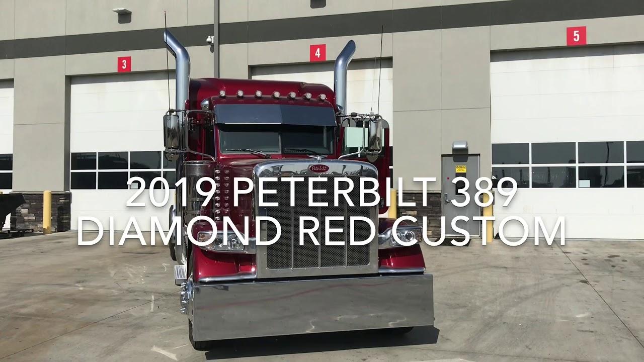 2019 Peterbilt 389 Diamond Red Custom at Rush Truck Centers - Dallas  Peterbilt