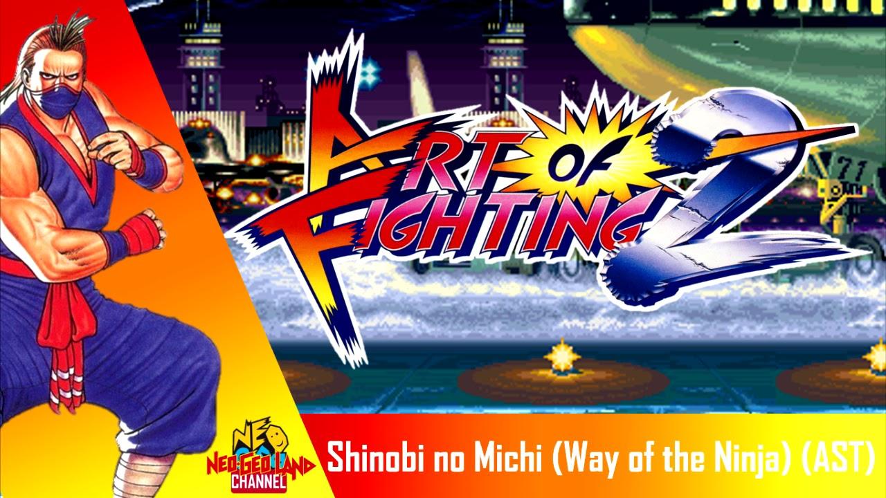 Art Of Fighting 2 Shinobi No Michi Way Of The Ninja Eiji Theme Ast Youtube