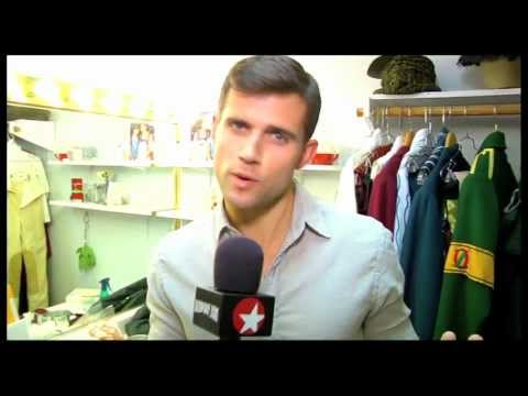 Murals, Makeup and Magic! Kyle Dean Massey Brings Fans Backstage at